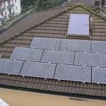 Bersellini Luciano Colorno Parma PV 2,88 kWp Moduli Sanyo HIT 240 HDE4 parzialmente integrato - Anno 2010
