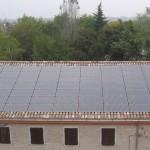 Azienda agricola Antonio Ziliotti Pizzo di S. Secondo Parma - PV 15,12 kwp totalmente integrato - Moduli Sanyo HIT 240 HDE4.